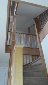 About Sarsville - Our Oak staircase